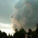 Roman God Found in Clouds