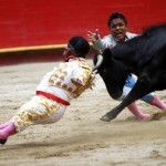 dwarf bullfighting video