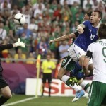 The man dies after watching this game between Italy and Republic of Ireland at Euro 2012