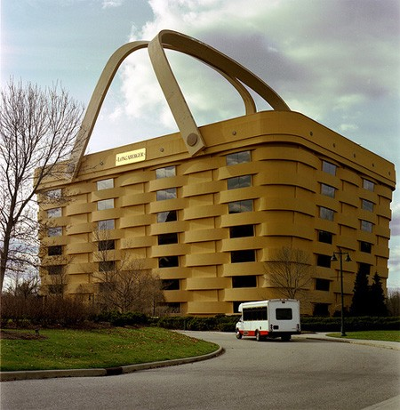 weird basket building ohio