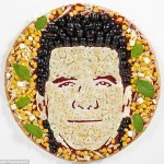 Simon Cowell's Pizza Face